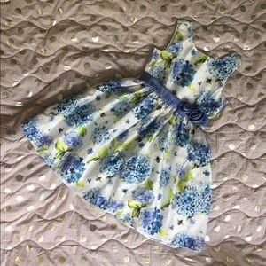 Purply blue dress